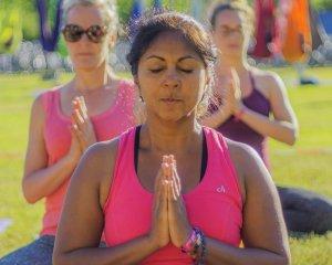 Mediteren op het Yoga Festival en tijdens yoga vakantie